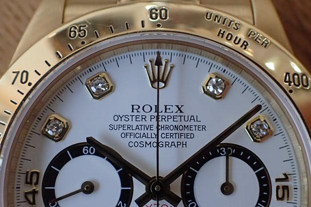 ロレックス デイトナ Ref.16528 S番 逆6 8Pダイヤ