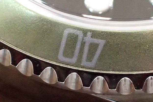 ロレックス グリーンサブマリーナ Ref.16610LV F1 ビッグスイス フラット4 ライムベゼル