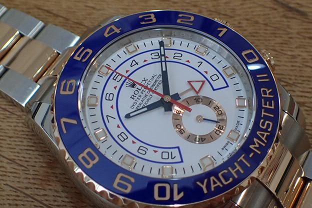 ロレックス  ヨットマスターⅡコンビ Ref.116681
