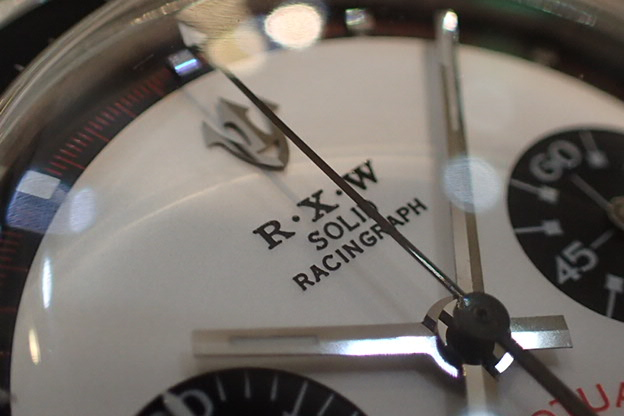 R・X・W SOLID RACINGRAPH 白文字盤