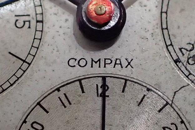 ユニバーサル COMPAX クロノグラフ Cal.386