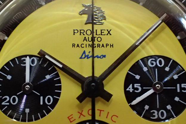 PRO-LEX レーシングラフ Dino イエロー文字盤