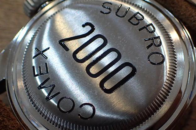 PRO-LEX SUBPRO COMEX プラスチックベゼル