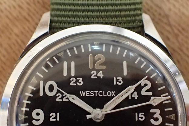 WESTCLOX 手巻き 34mm