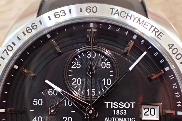TISSOT クロノグラフ T024427A オートマチック