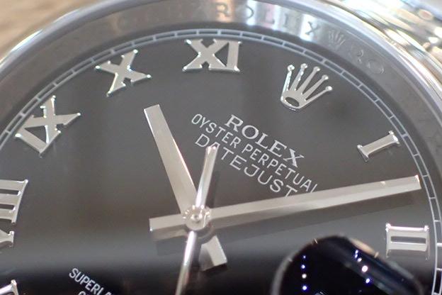 ロレックス デイトジャスト Ref.116200 黒ローマ ランダム