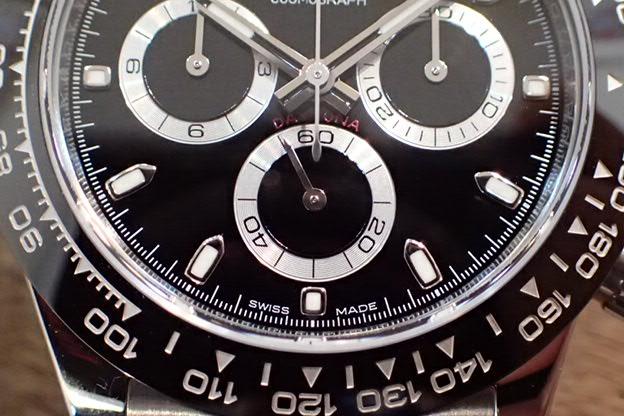 ロレックス デイトナ 黒文字盤 Ref.116500LN