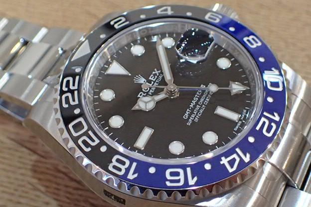 ロレックス GMTマスターⅡ Ref.116710BLNR 未使用品
